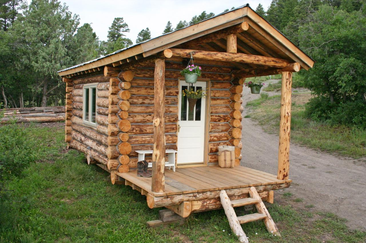 Tiny Log Cabin « The Log Builders