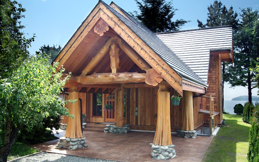 Post And Beam Gibsons Bc Canada The Log Builders
