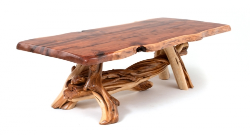 Juniper Log Dining Table 171 The Log Builders : Log Furniture 500x271 from thelogbuilders.org size 500 x 271 jpeg 71kB