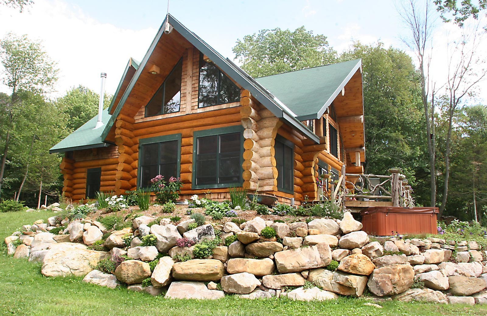 2800 SQFT Luxury Log Cabin The Builders