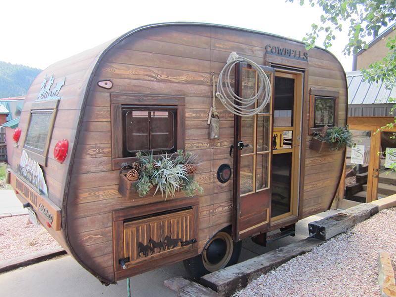 Adorable Log RV The Builders