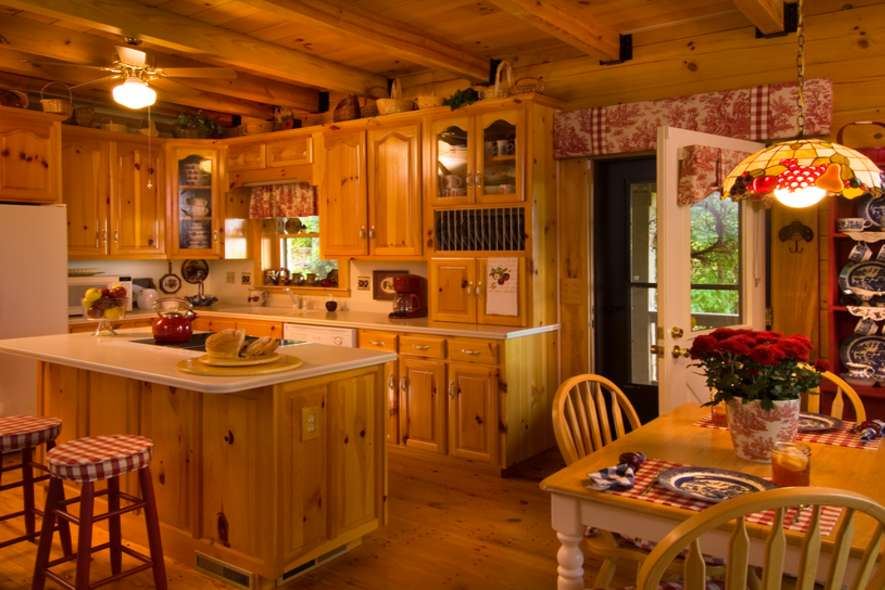 ... Log Home Planbook · Grandmotheru0027s Kitchen