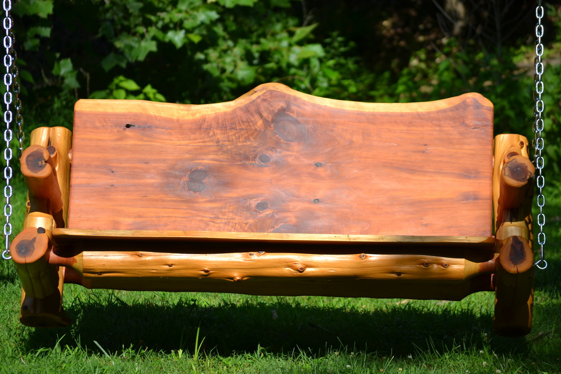 The Perfect Bench Swing The Log Builders