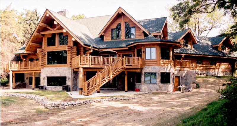 Majestic Dream Log Home The Log Builders