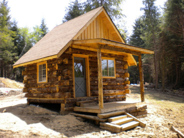 How To Build A Rustic Cabin For Under $2000