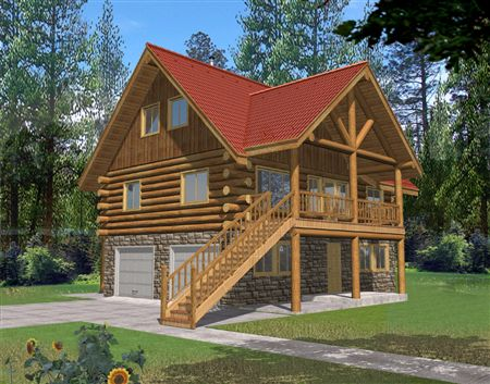 Small Cabin Design Ideas « The Log Builders