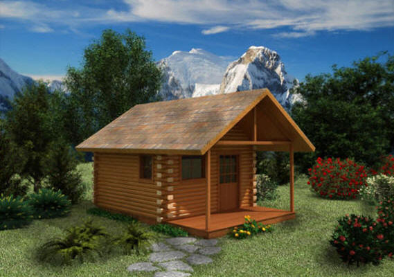 The Cheapest Log Home Kits The Log Builders
