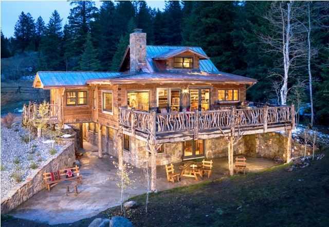 Breathtaking Montana Log Cabin Home The Log Builders