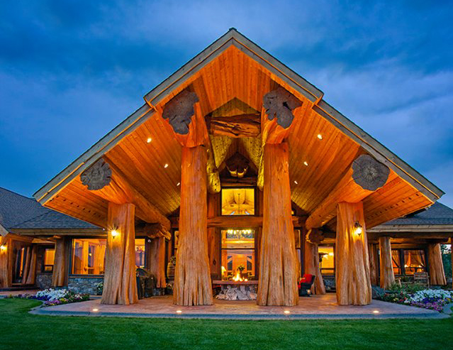 This Pioneer Log Home Is Really The Builders