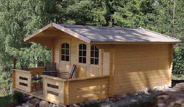 Amazing Little Log Cabin For Only 5 000 The Log Builders