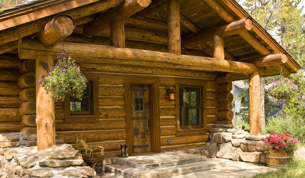 The Amazing Lost Creek Log Cabin The Log Builders