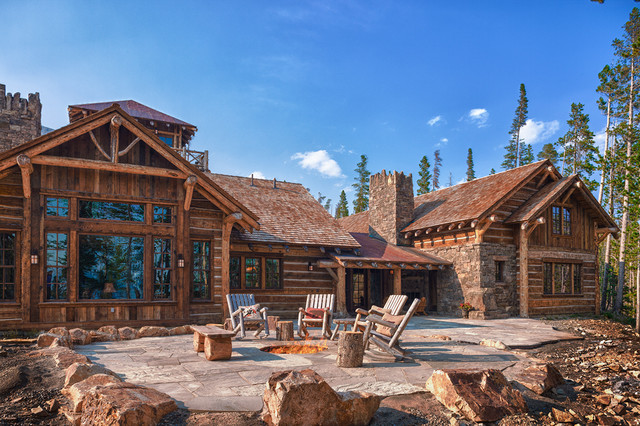 Legendary Foxtail Log Cabin That S Awesome The Log